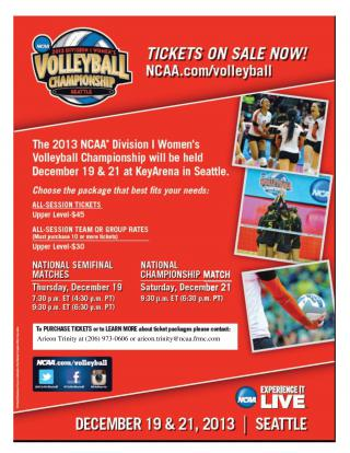 volleyball championship flyer